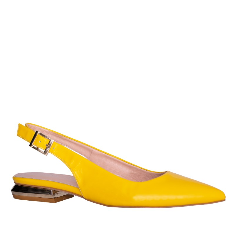 LORETTI Low heel Mango slingbacks