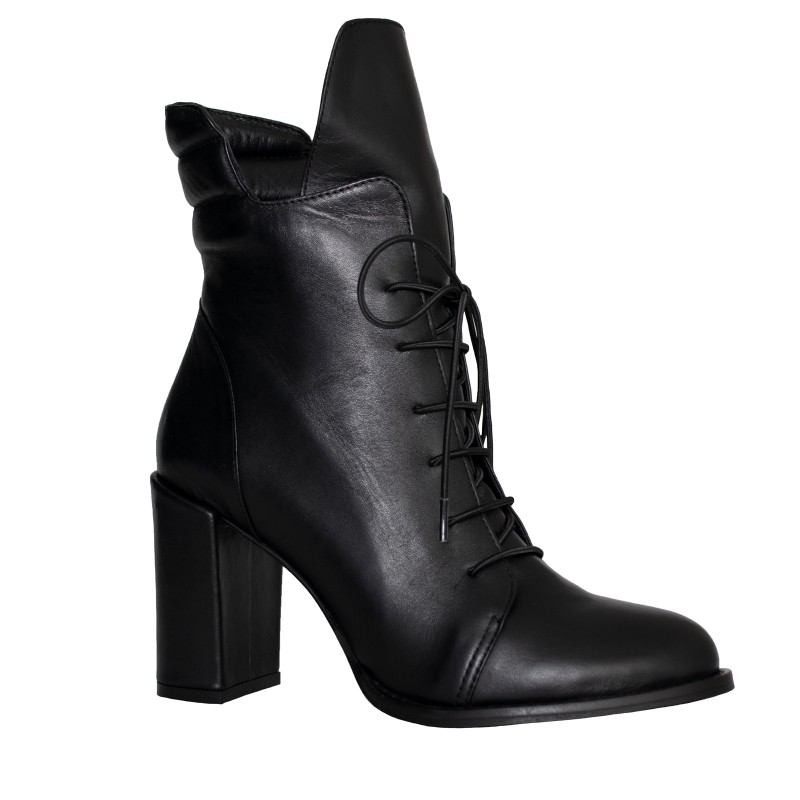 LORETTI High heel leather Carbone boots
