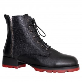 LORETTI Thick soled leather Carbone boots