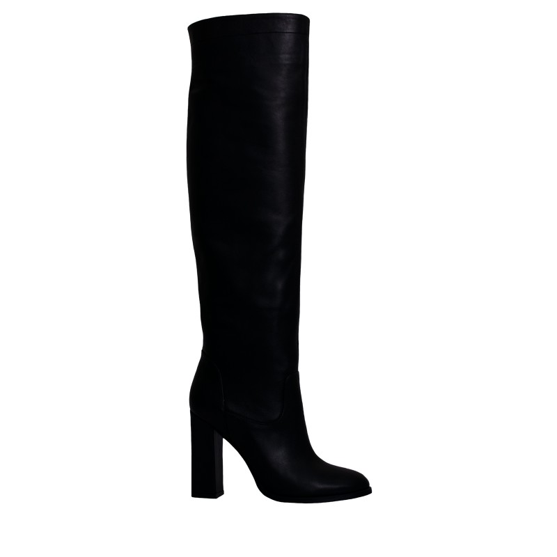 LORETTI High heel leather Carbone high boots