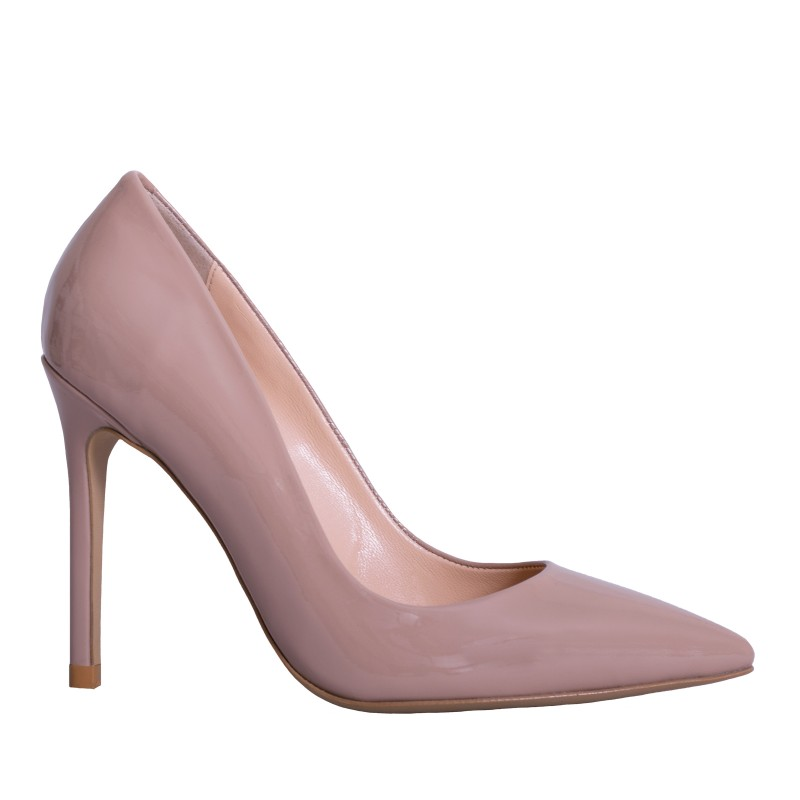 LORETTI High heel pumps patent leather Nude