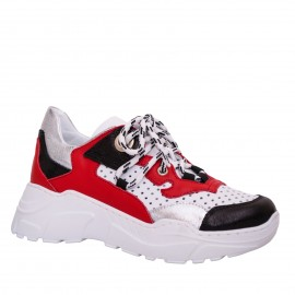 LORETTI Leather Multicolor sport shoes
