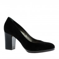 Platform medium heel pumps (4)