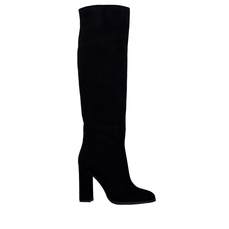 LORETTI High heel suede Carbone high boots
